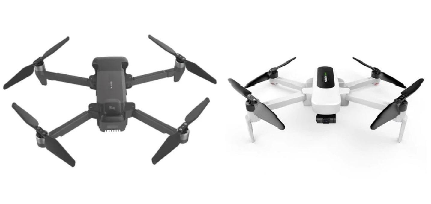 Hubsan Zino and FIMI X8 drones
