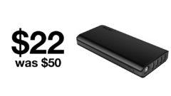 EasyAcc 26000mAh power bank selling for just $22