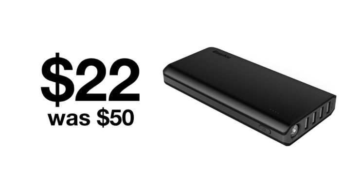 EasyAcc 26000mAh power bank selling for just $22