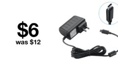 Grab this 18W charger with USB-C cable for just $6