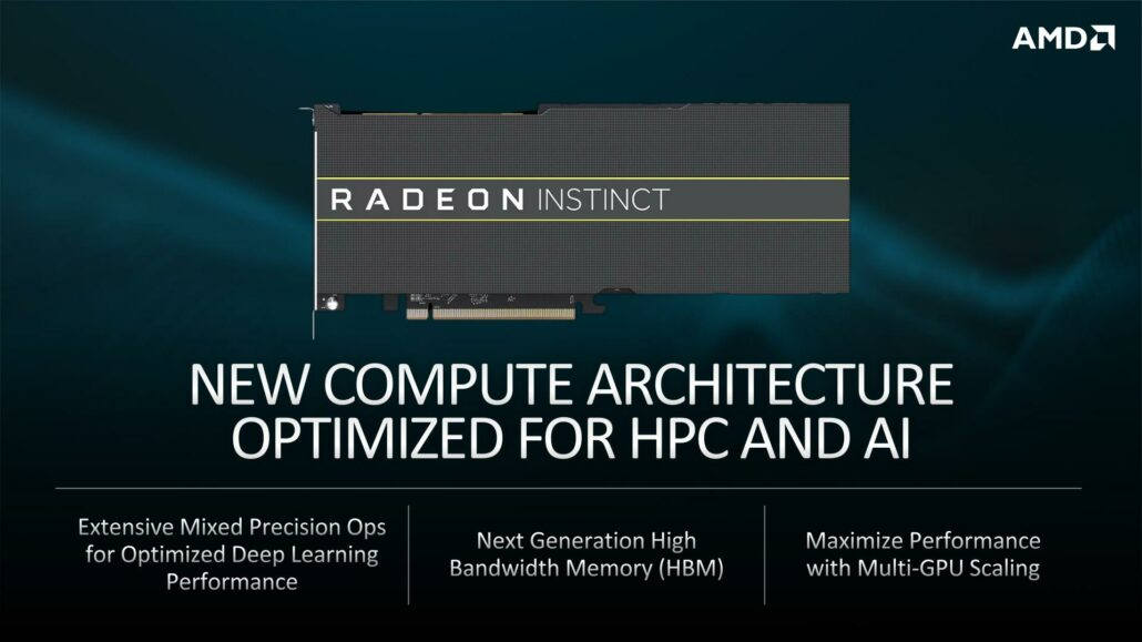 AMD Radeon Instinct GPU Accelerator