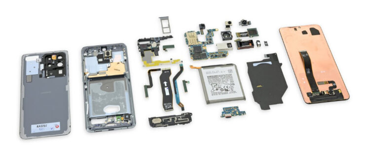 Galaxy S20 Ultra teardown
