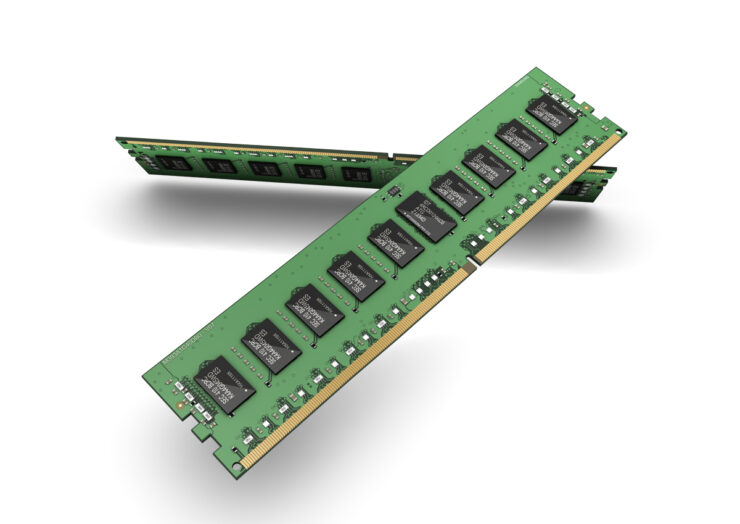 Samsung EVU DDR4 / DDR5 Memory Production