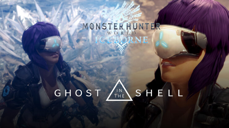 Monster Hunter WOrld ghost in the shell mod