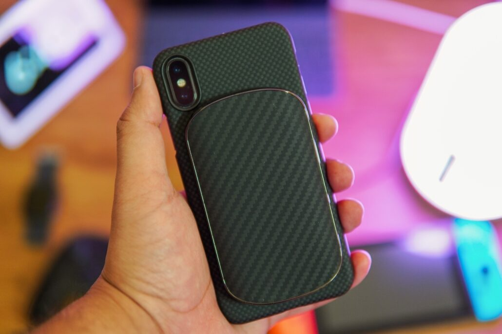 Pitaka Magnetic Wireless Charging Kit for iPhone 2