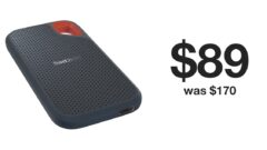 SanDisk 500GB portable SSD down to just $89