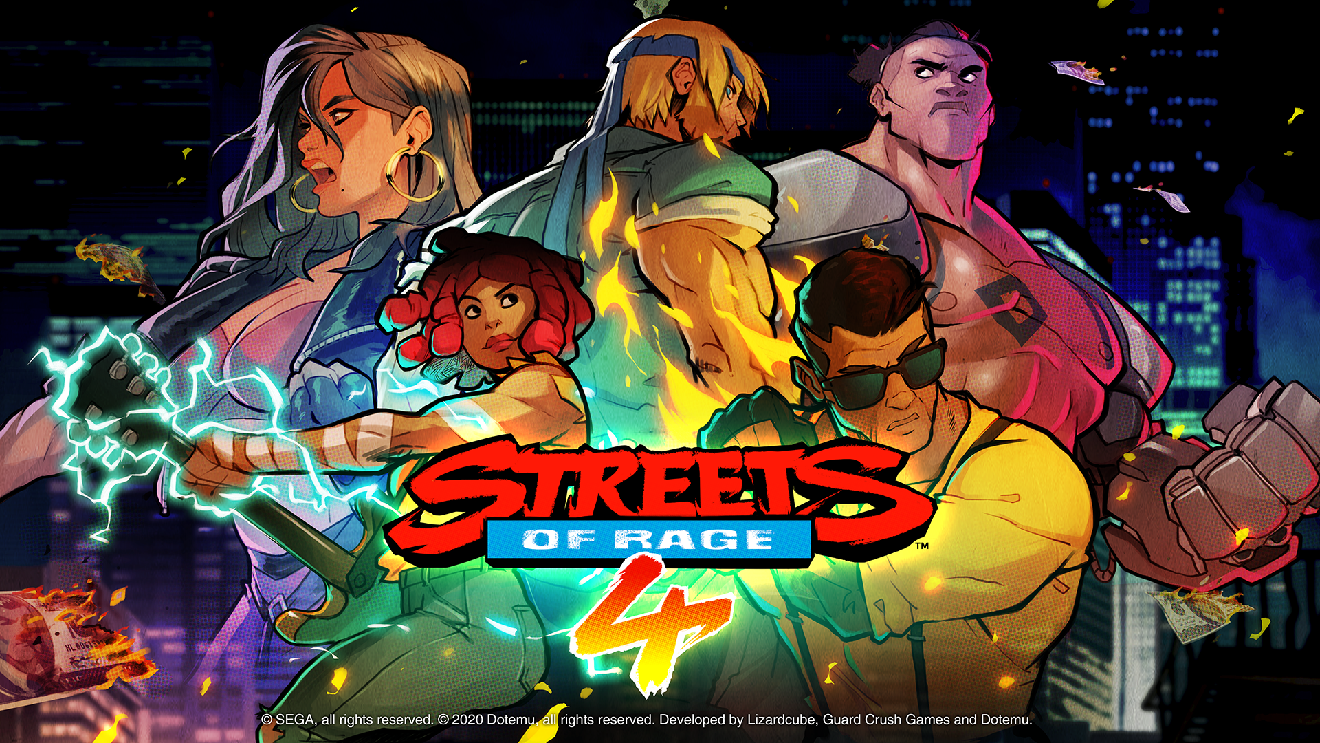 Streets Of Rage 4 Hands On Preview And Interview From Pax East 2020