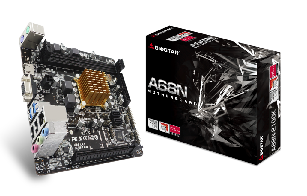 Biostar Has Announced The A68n 2100k Soc Motherboard Features Amd S E1 6010 Processor