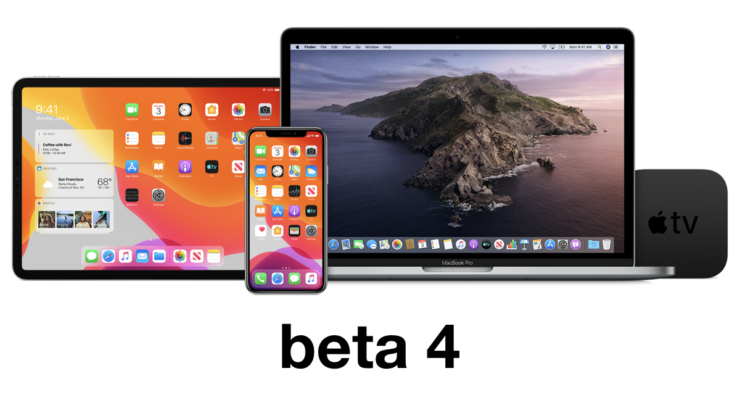 Beta 4 of iOS 13.4 and iPadOS 13.4 now available