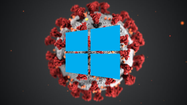 coronavirus windows 10