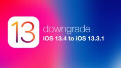downgrade iOS 13.4 to iOS 13.3.1 on iPhone and iPad