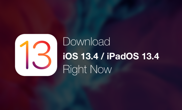 Download iOS 13.4 / iPadOS 13.4 right now ahead of next week's official release