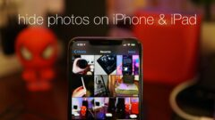 Hide private photos in iOS 13 / iPadOS