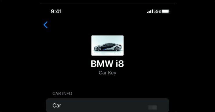 iOS 14 CarKey