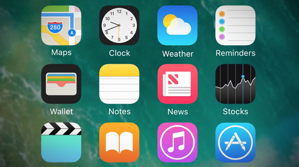 iOS 14 Homescreen View