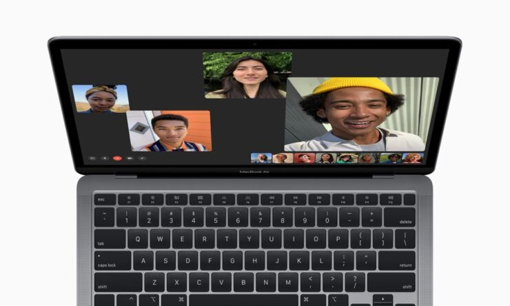 2020 MacBook Air features a 720p webcam