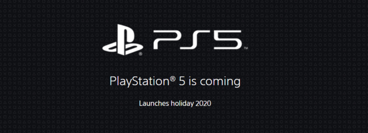 ps5 website update playstation 5 is coming