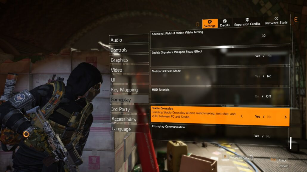 the division 2 stadia crossplay
