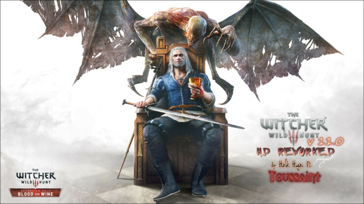 the witcher 3 HD reworked version 11.0