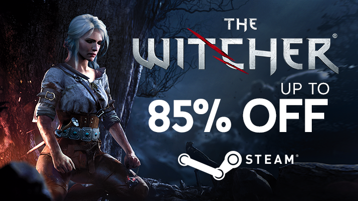 the witcher steam sales