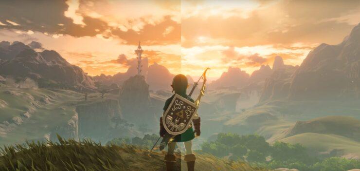 Raytraced CEMU Zelda BOTW