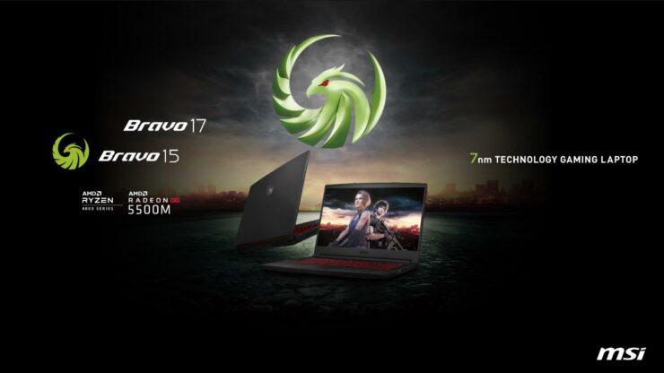MSI presenta su gama de portátiles Bravo con AMD Ryzen 4000 y Radeon RX 5500 2