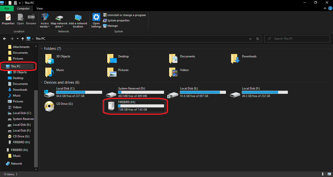 How to Format a USB flash drive on Windows 10