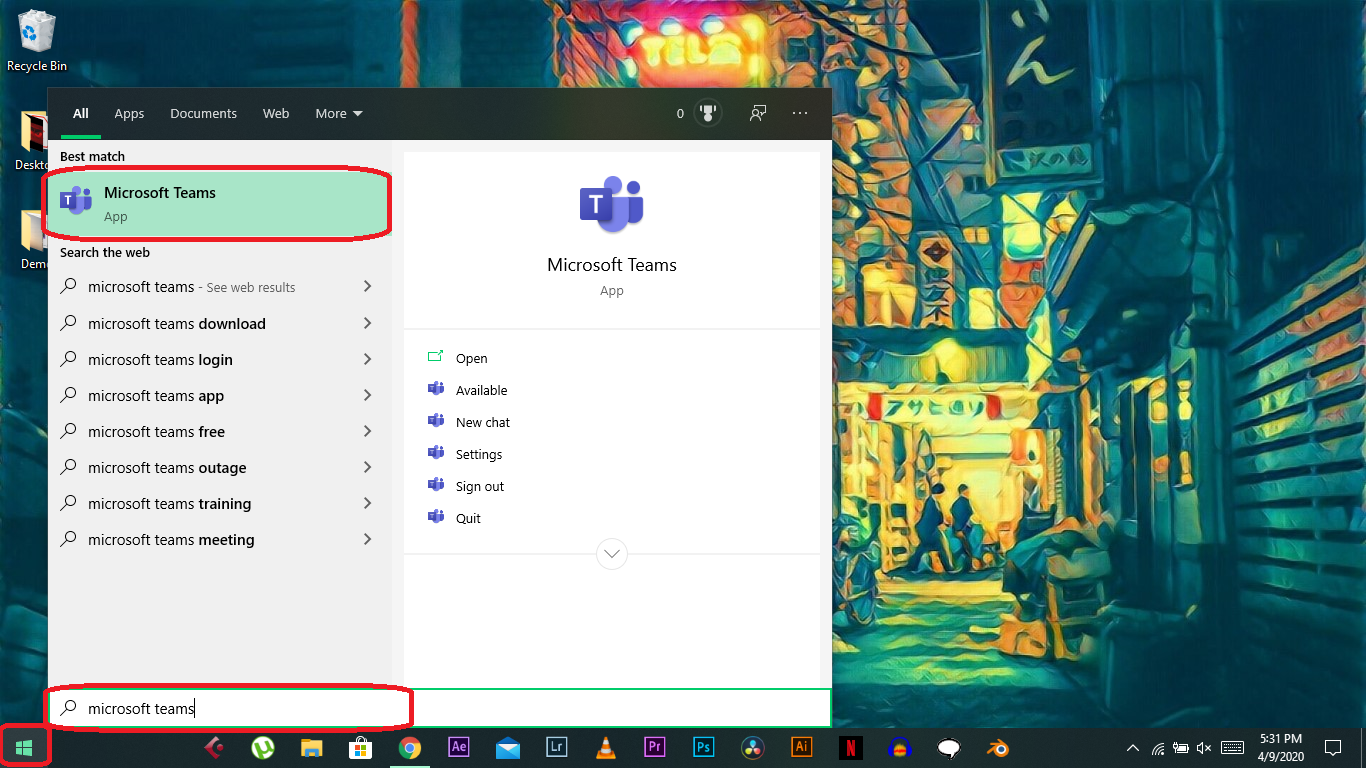 • How to Set up Microsoft Teams on Windows 10