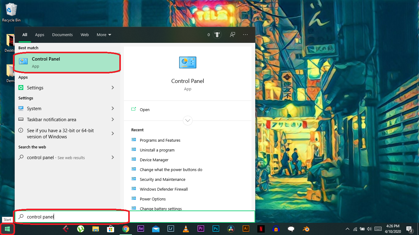 IP address on Windows 10