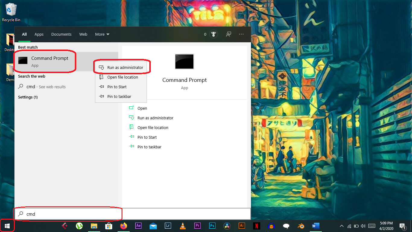 How to Format Flash Drive with Command Prompt with Windows 10