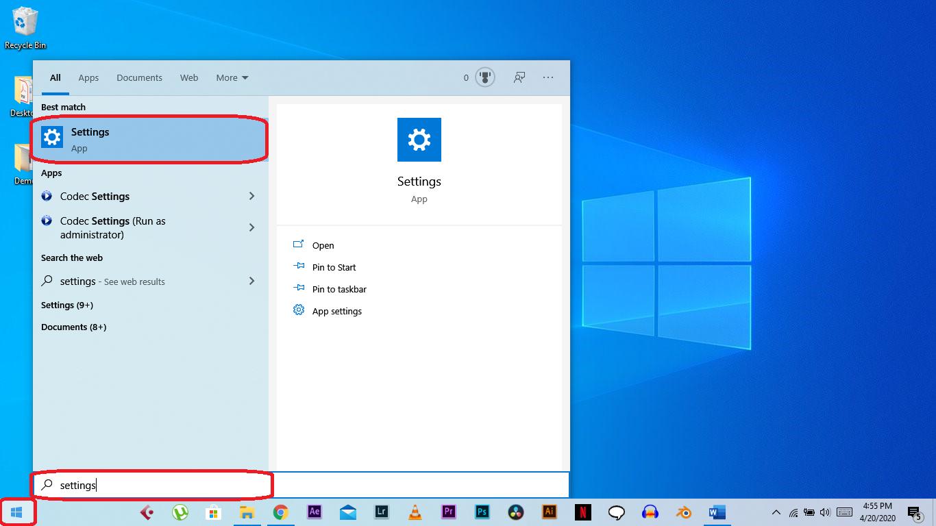 turn on dark theme on Windows 10