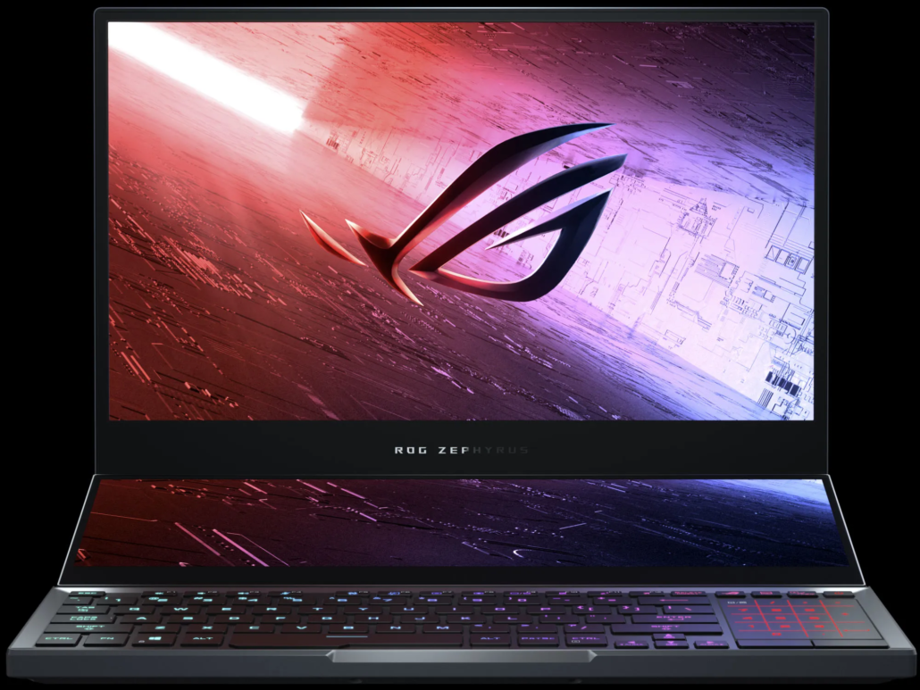 Intel Core i9-10980HK CPU Powered ASUS ROG Notebook