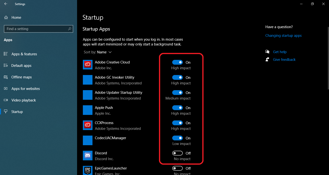 How to disable unwanted startup programs on Windows 10