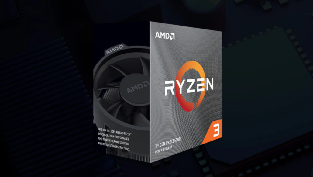 AMD Ryzen 3 3300X & Ryzen 3 3100 Quad Core CPUs