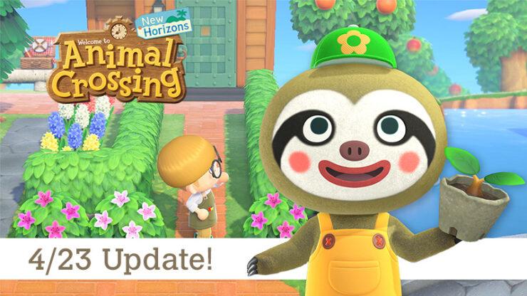 Animal Crossing New Horizons Update 1.2.0