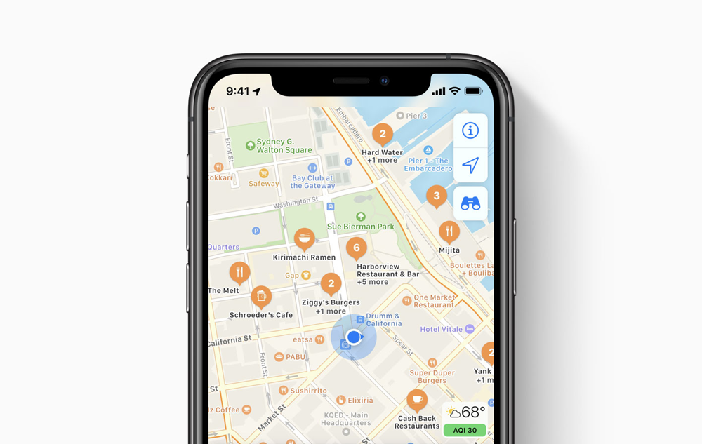 Small tweak in Apple Maps now suggests the essentials in search first