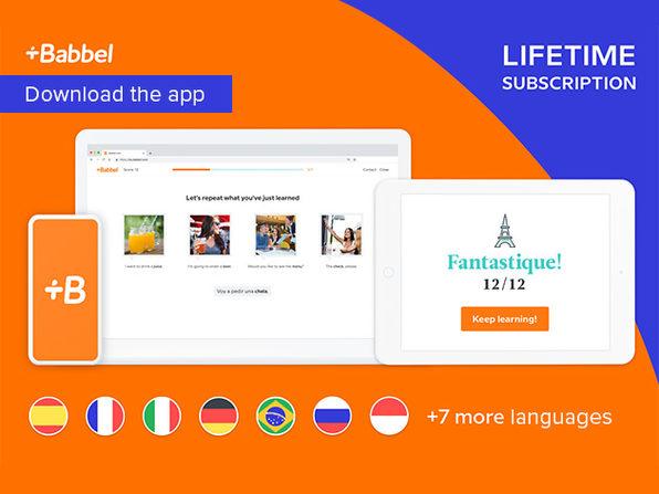 Babbel Language Learning Lifetime Subscription