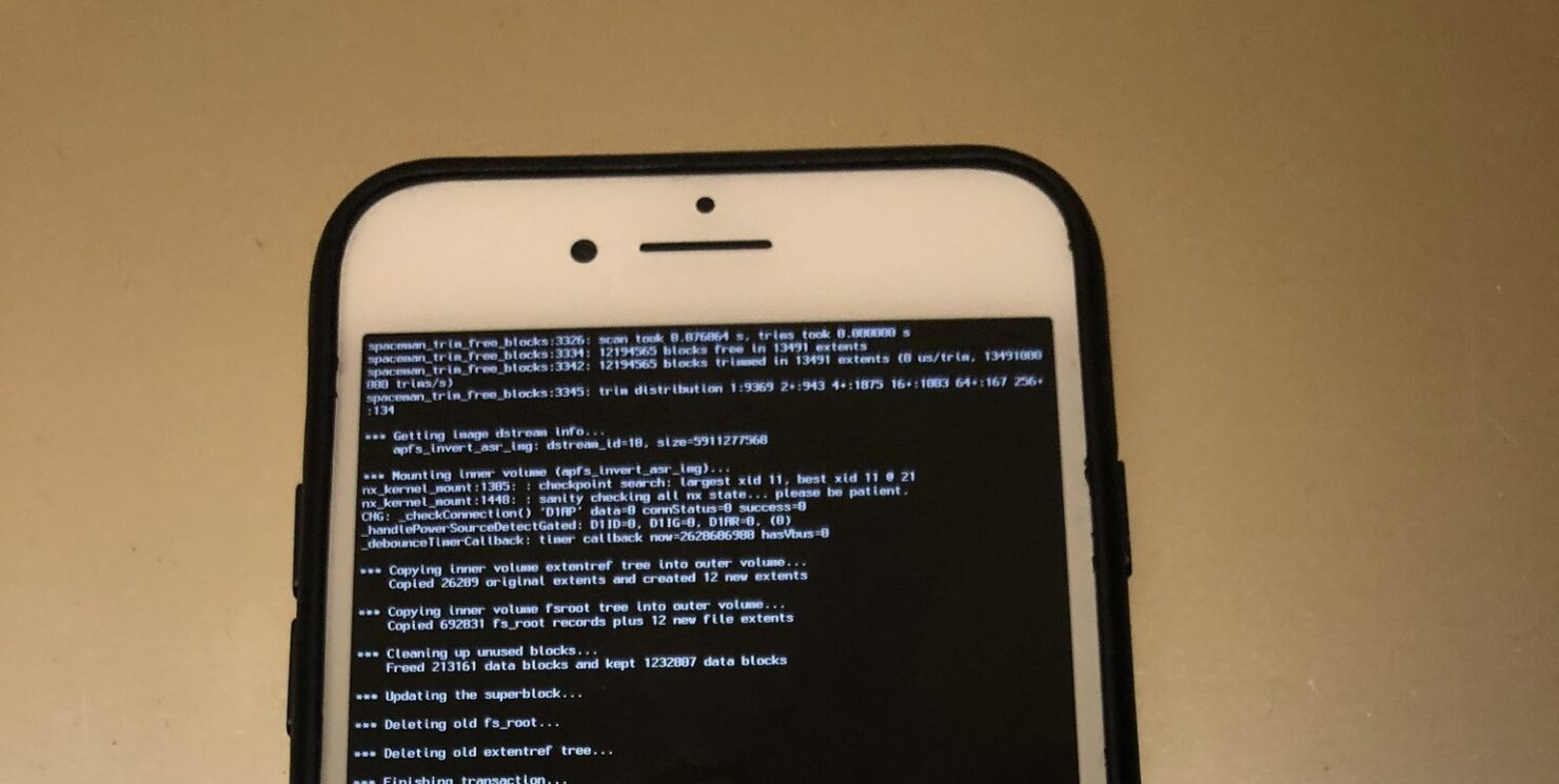 Dual Boot iPhone