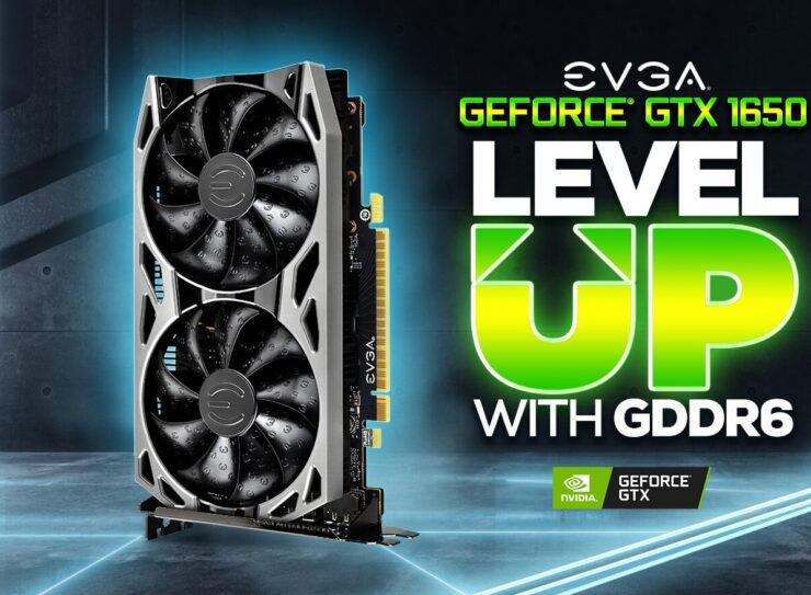 EVGA presenta dos modelos de GeForce GTX 1650 con memoria GDDR6 2