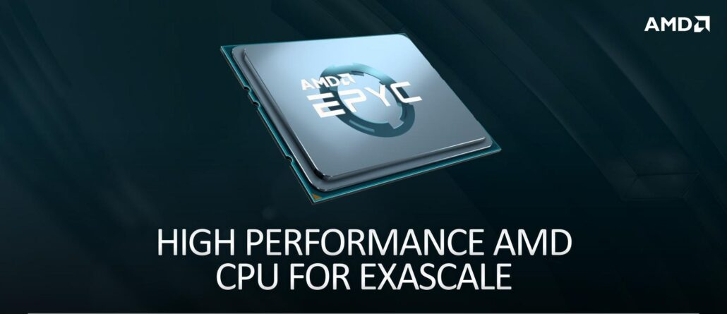 AMD EPYC Milan CPU with 7nm+ Zen 3 Cores