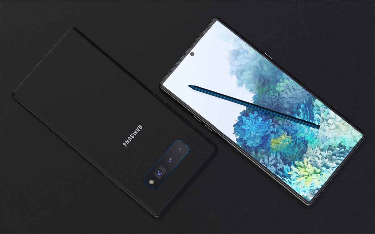 Galaxy Note 20 Design Spotted in Alleged Teaser - Image Shows Flagship Without Any Front-Facing Camera Cutout
