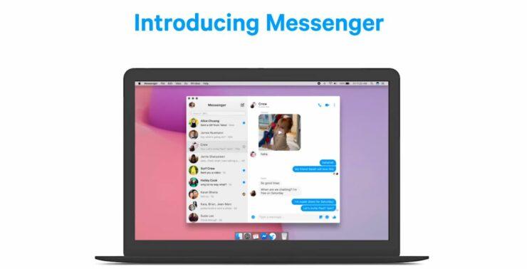 Facebook Messenger app for Destop