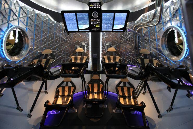 SpaceX Dragon version 2 interior