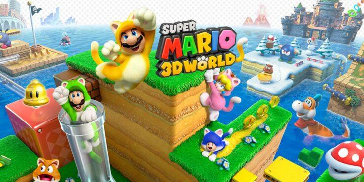 Super Mario 3D World Switch
