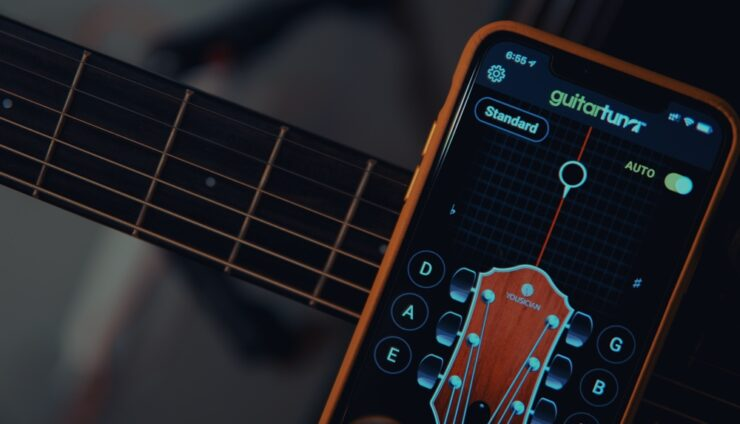 Best guitar tuner app for iOS and Android