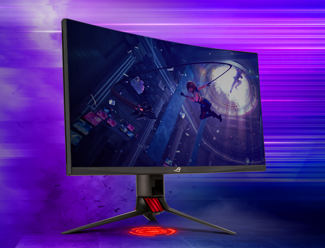ASUS Announces the ROG Strix XG27WQ: A High Refresh Rate Monitor with a Curved Screen - Wccftech