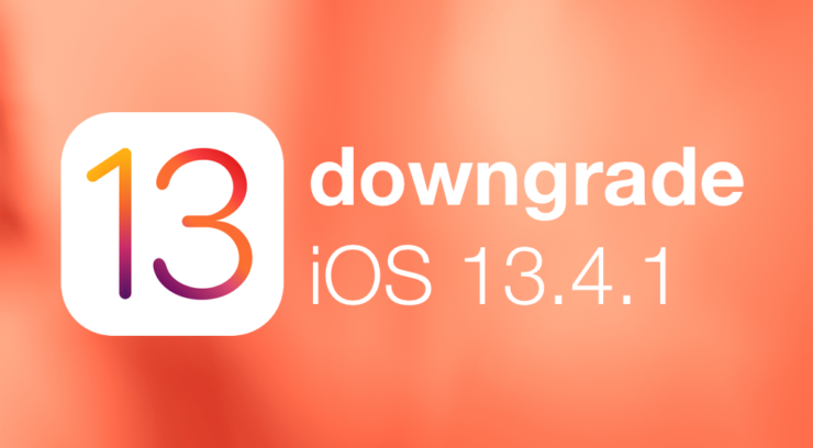 Downgrade iOS 13.4.1 / iPadOS 13.4.1 on your iPhone and iPad today before Apple stops signing the firmware