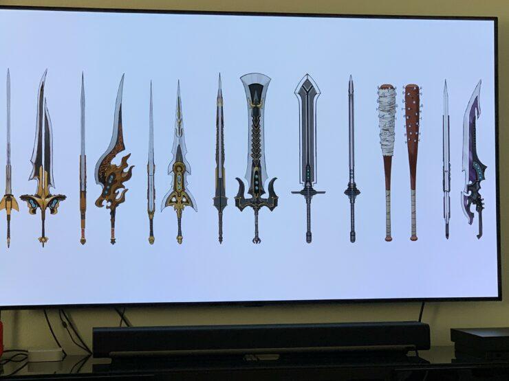 Final Fantasy VII Remake Blades