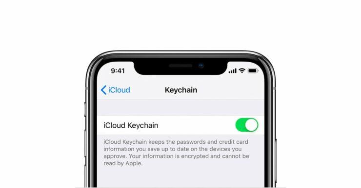 iCloud Keychain iOS 14