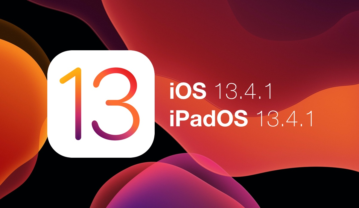 Download iOS 13.4.1 and iPadOS 13.4.1 today with bug fixes